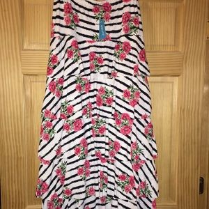 Junee floral layered ruffle skirt size XL. NWT